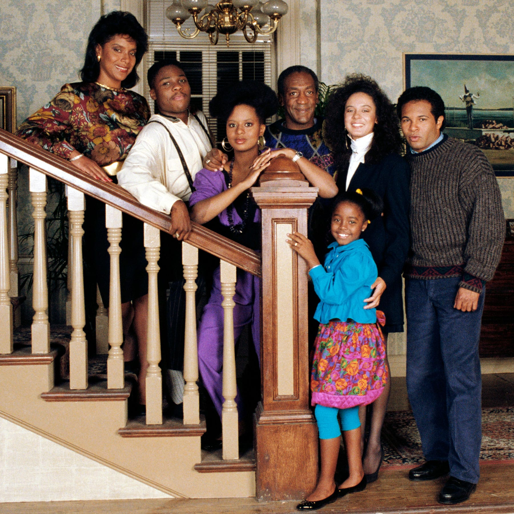 The cast ofThe Cosby Show